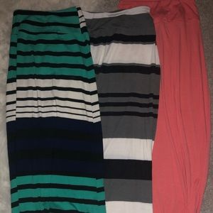 3 XS Ankle Length Maxi Skirts!